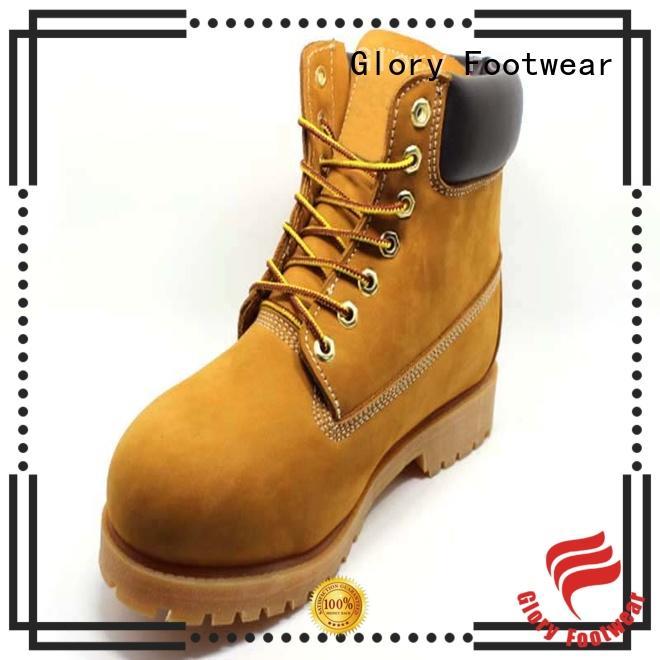 high cut steel toe boots anti customization for hiking