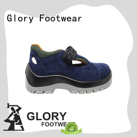 Glory Footwear leather safety shoes online in different color