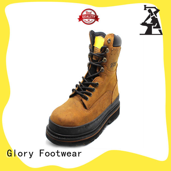Glory Footwear toe safety work boots with good price for winter day