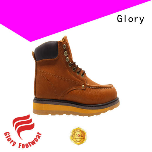 Glory Footwear high cut leather work boots order now for outdoor activity