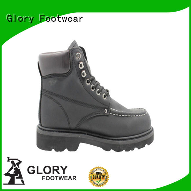 Glory Footwear middle hiking work boots with good price for winter day