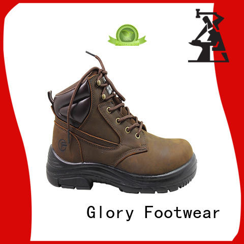 Glory Footwear fashion lace up work boots customization for business travel