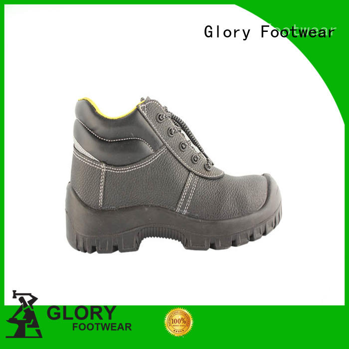 Lightweight Embossed action leather safety Work boots