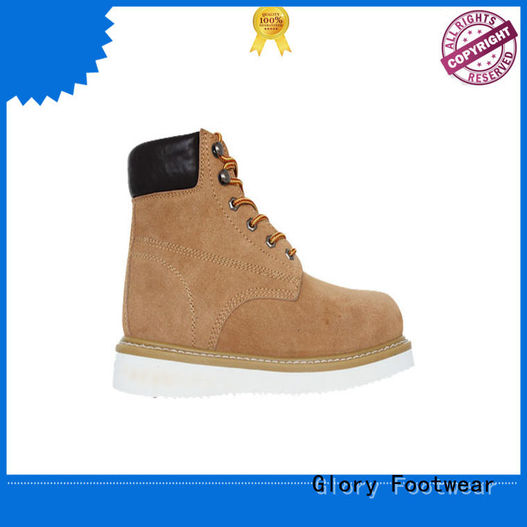superior leather work boots Certified