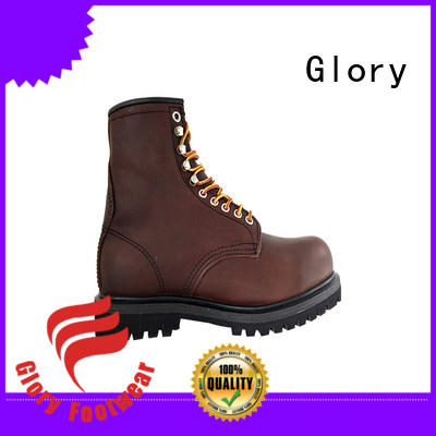 Glory Footwear awesome best steel toe waterproof work boots from China for party