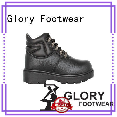 Glory Footwear steel best safety shoes in different color for business travel