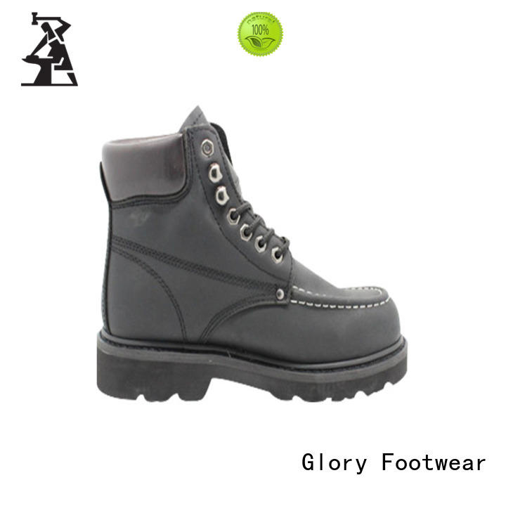 Glory Footwear high cut leather work boots from China