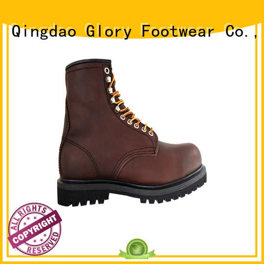 superior goodyear welt boots injection customization for party