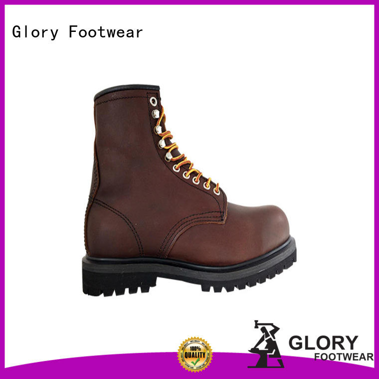 Glory Footwear new-arrival lightweight safety boots from China for business travel