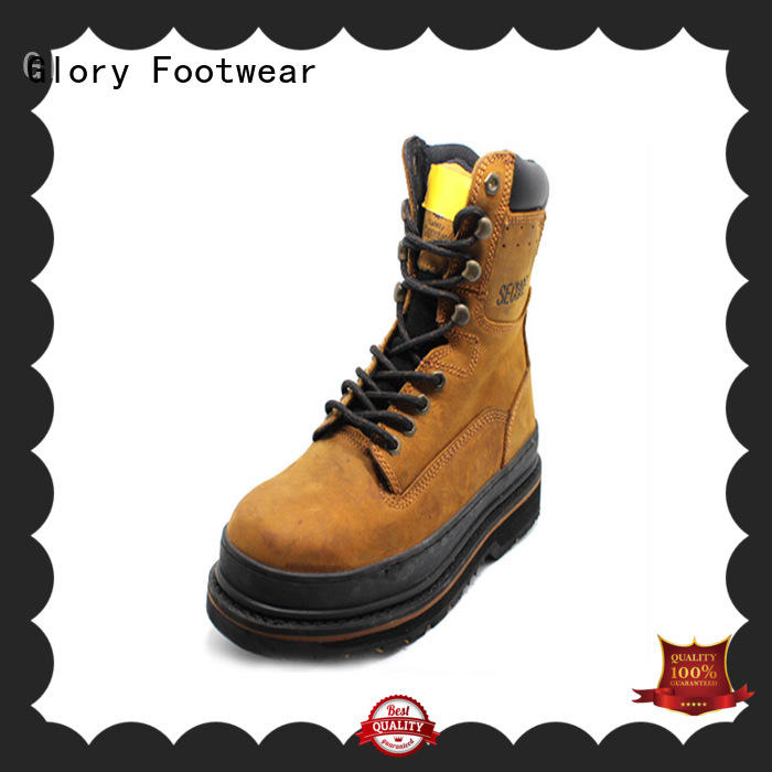 Glory Footwear new-arrival leather work boots wholesale for winter day