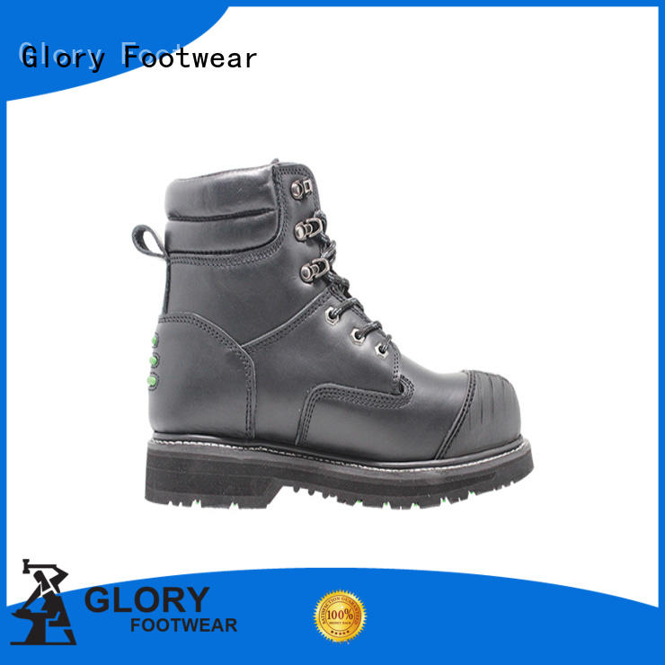 Glory Footwear toe low cut work boots free design for outdoor activity