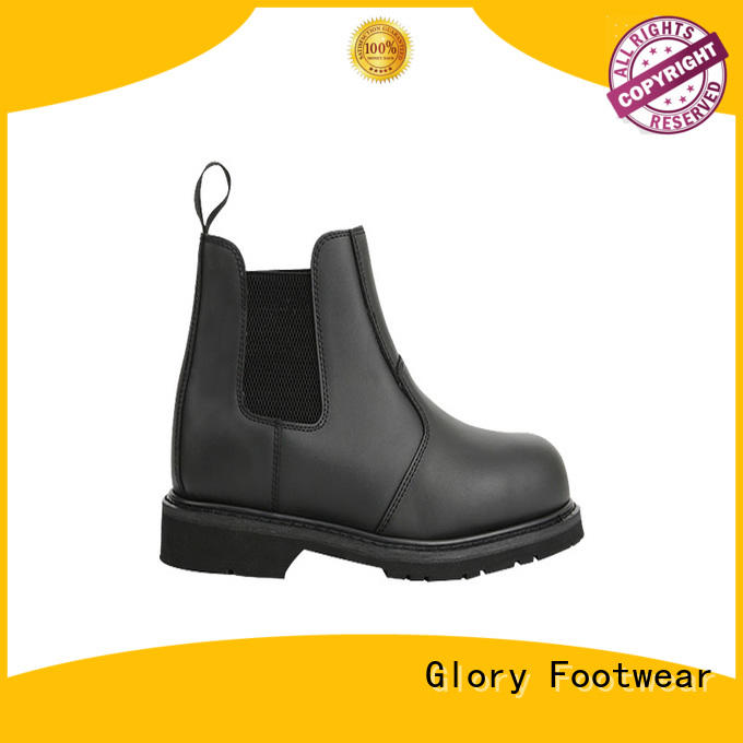 Rubber sole With Plastic Toe Goodyear welted Fashion Working Boots