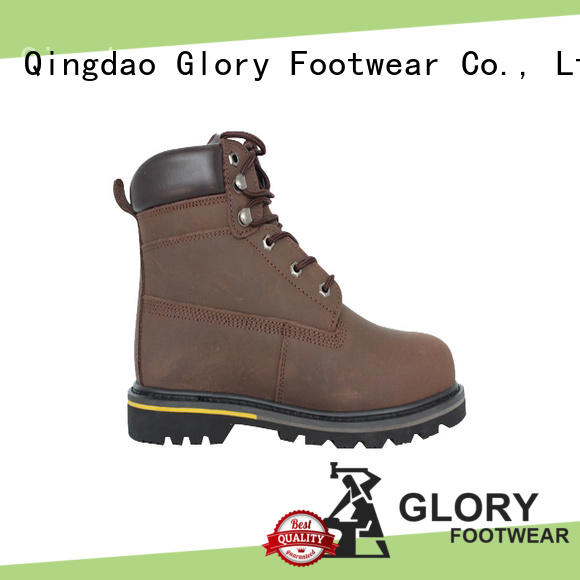 high cut hiking work boots hard with good price