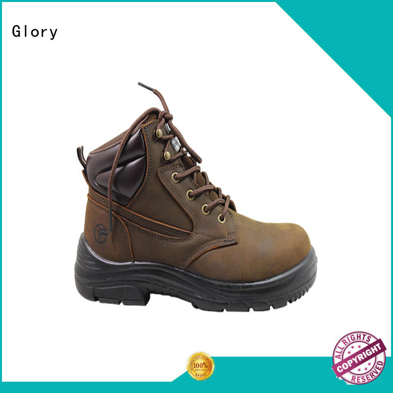 Glory Footwear ankle leather work boots for wholesale for hiking