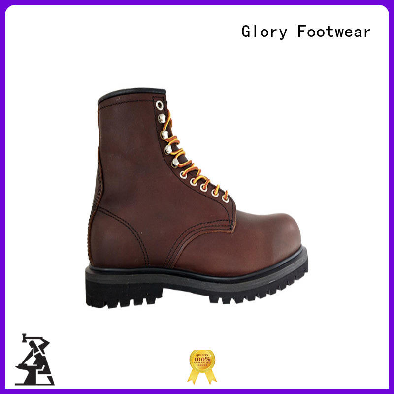 Glory Footwear hard steel toe boots wholesale for party