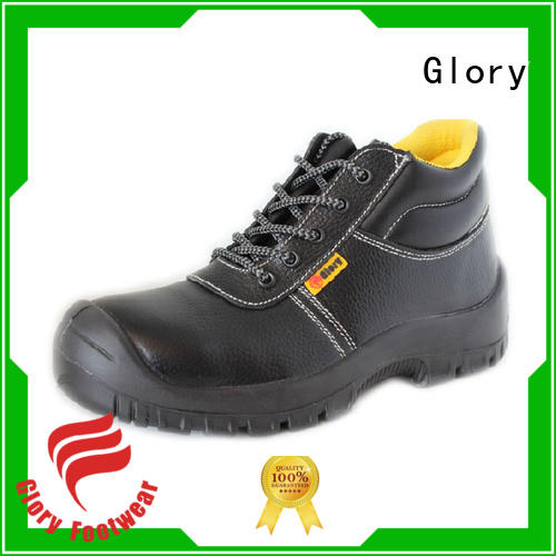 Glory Footwear genuine waterproof work shoes with good price for hiking