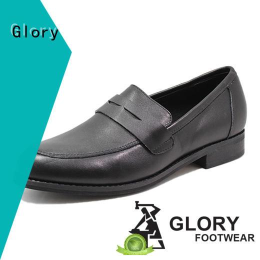 Glory Footwear black formal shoes for women free design