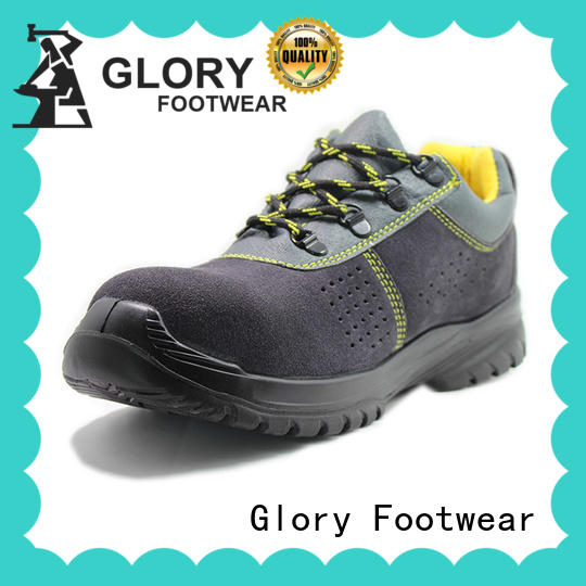 Glory Footwear hot-sale industrial safety shoes in different color for business travel