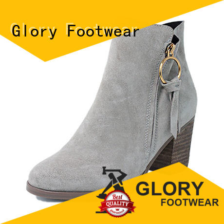 Glory Footwear newly ladies shoe boots from China for business travel