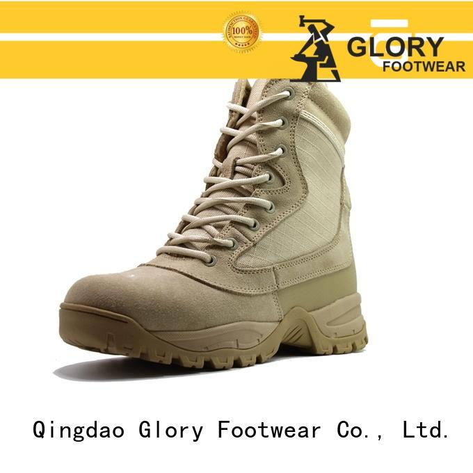 Glory Footwear middle low cut work boots from China for winter day