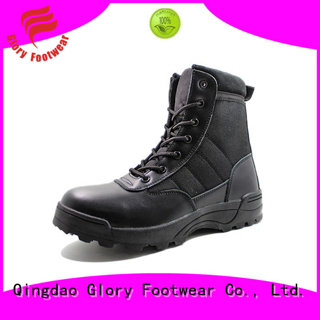Glory Footwear fine-quality tan military boots widely-use for party