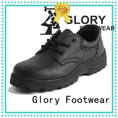 high cut most comfortable steel toe shoes with good price for outdoor activity Glory Footwear