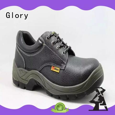 safety toe work shoes welt for outdoor activity Glory Footwear