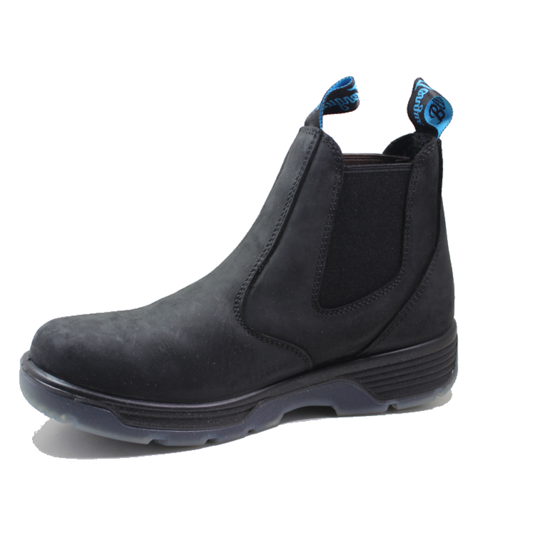 DESMA PU injection black work boots