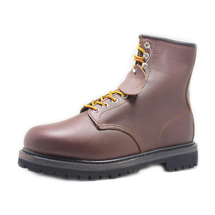 A grade cow nubuck leather safety work boots