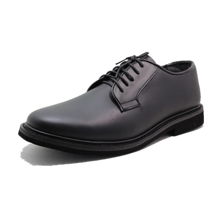 Leather Officer Oxfords Military Dress Shoes