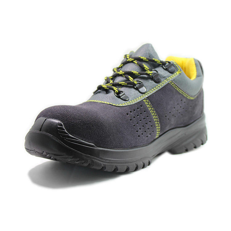 Lightweight composite toe safety shoes