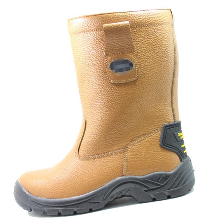 Fake fur waterproof work boots