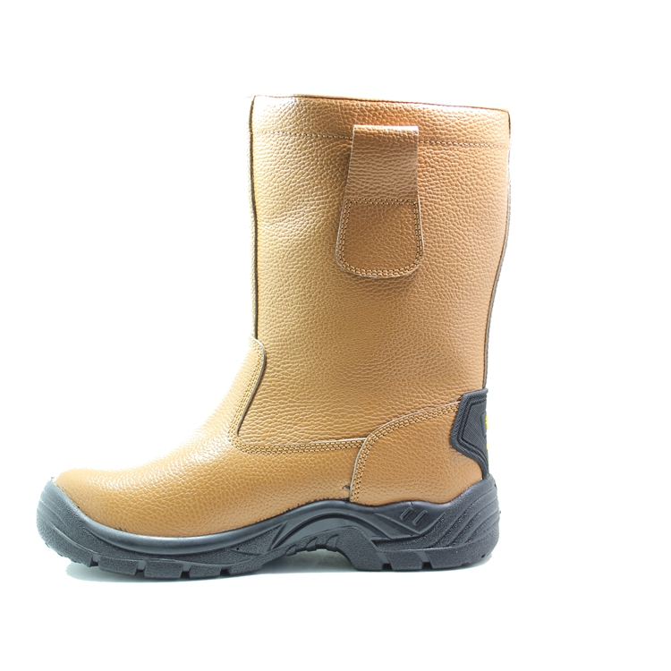 awesome leather work boots with good price for outdoor activity-2