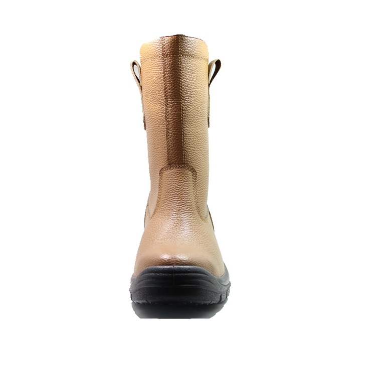 awesome leather work boots with good price for outdoor activity-1