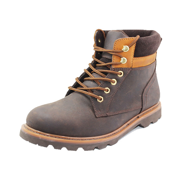 first-rate leather work boots factory price-2