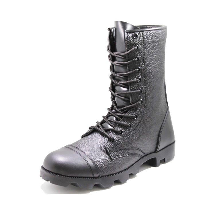 Black DMS military boots
