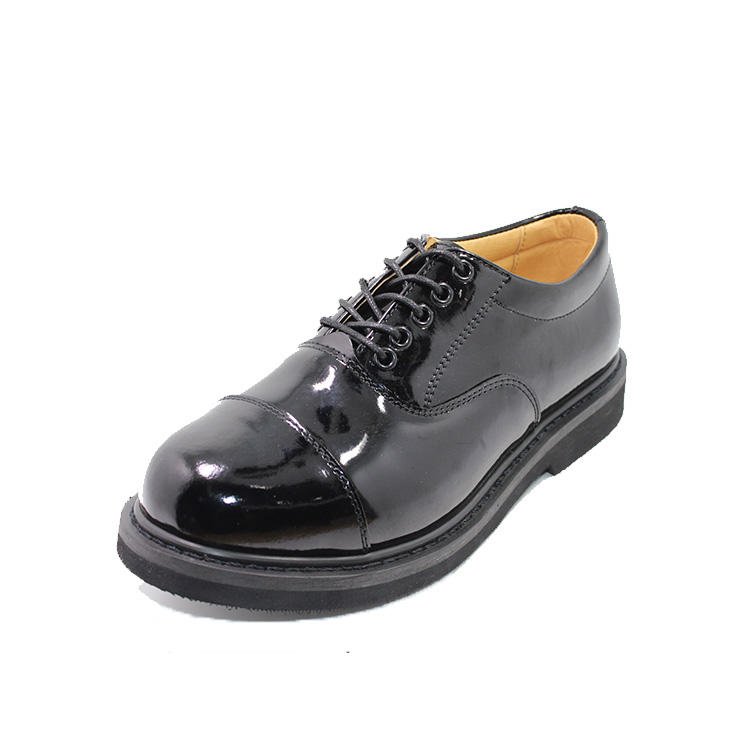 Oxford army officer shoes