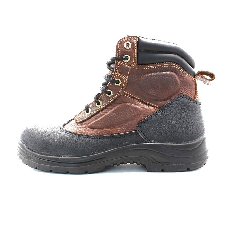 Middle cut construction work boots