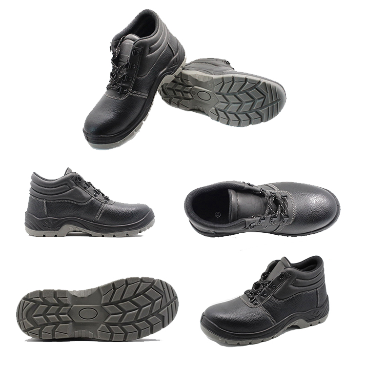 solid steel toe shoes with good price for outdoor activity-1