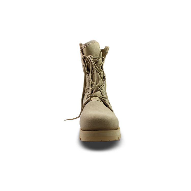 newly black military boots by Chinese manufaturer for outdoor activity-1
