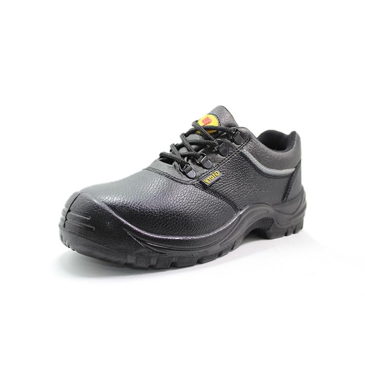 Embossed leather mens work boots