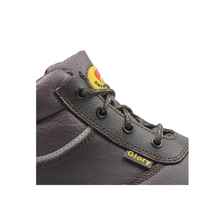 Glory Footwear leather safety shoes with good price for party