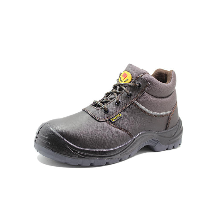 PU leather best safety shoes