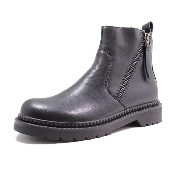 Calf leather stylish boots for women