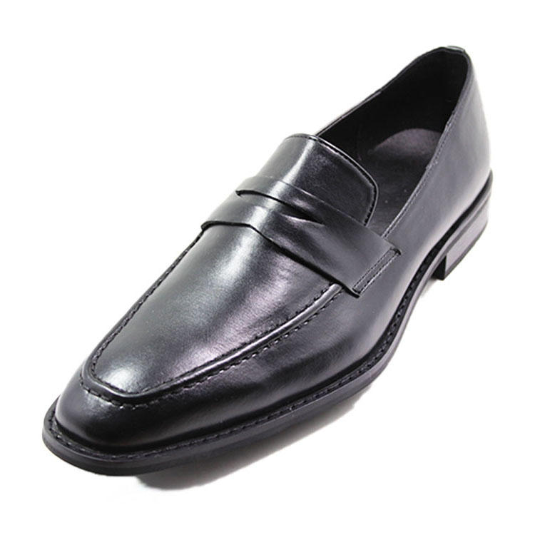 MOC toe mans dress action leather shoes