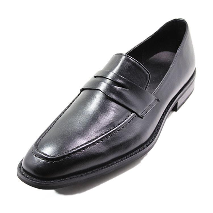 MOC toe mans dress action leather shoes
