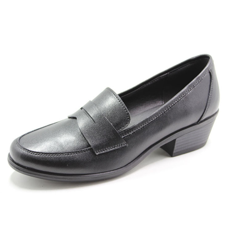 Action leather women's formal shoes