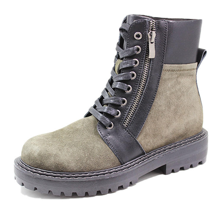 Women leather trendy winter boots