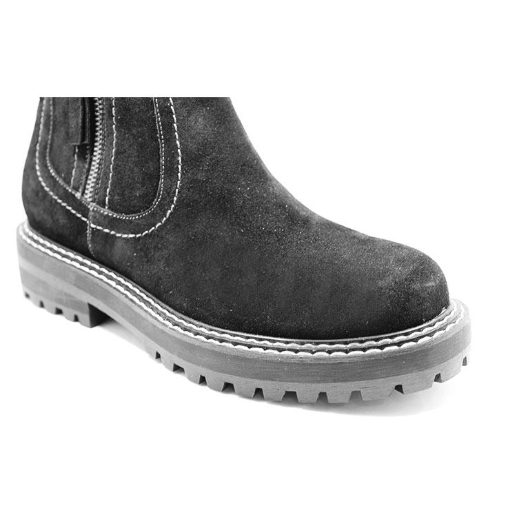 Glory Footwear suede boots with good price for business travel-4