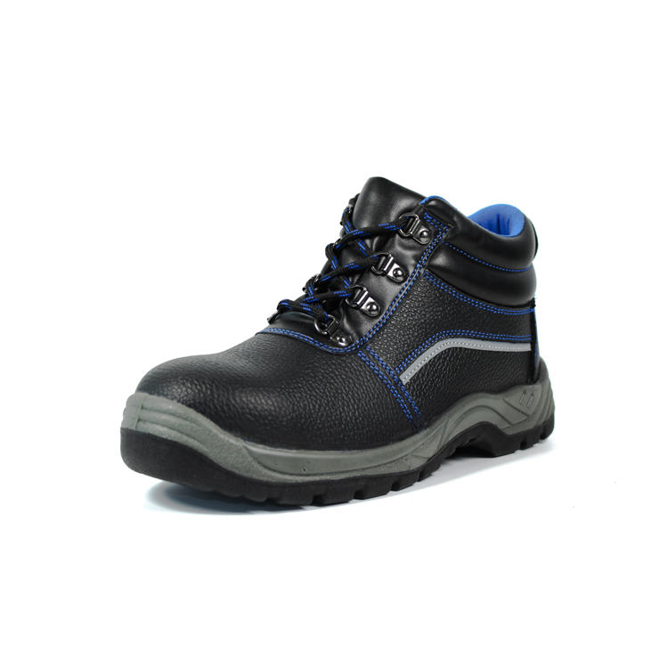 PU injection steel toe shoes